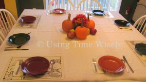 Keeping Children at the Table: Reusable Placemats