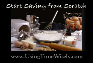 Start Saving from Scratch