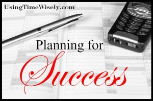 Planning for success - Day 21