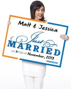 Wedding: Free Just Married Sign