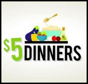 $5 Dinners with border