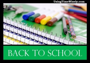 Back to School: Supplies Sales Begin Sunday, July 7, 2013