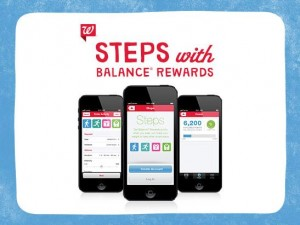 Walgreens: Steps with Balance Rewards