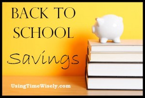 4 Savings Tips to Starting Off the School Year