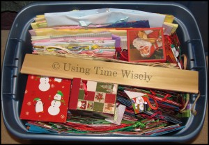 Organization: Christmas Wrapping