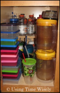 Organization: Kitchen Cabinets