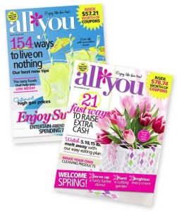 All You: 12 Issues for $5 – Limited Time