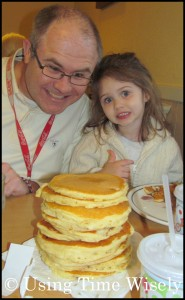 Enjoying National Pancake Day