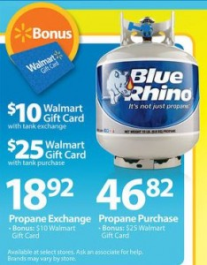 Walmart: Blue Rhino Propane Deal through April 5, 2014