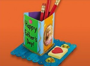 Lakeshore Learning: Father's Day Pencil Holder